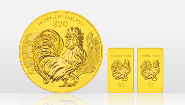 Win a gold coin worth S$888