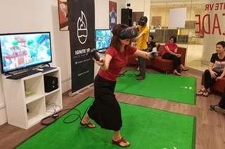 Ignite VR Arcade: Virtual Reality Game Play