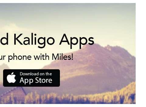 Download Kaligo app in Apple Store