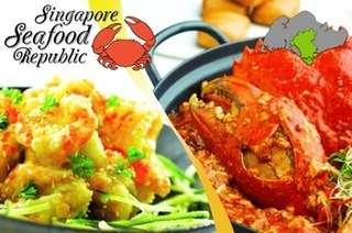 Singapore Seafood Republic Cash Voucher