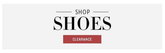 Shoes on Clearance