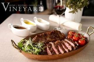 VINEYARD at HORT PARK: 3-Course Dinner for 2 Pax