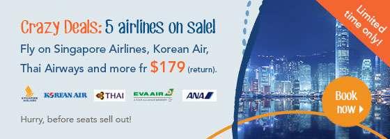 Crazy Deals: 5 airlines on sale!