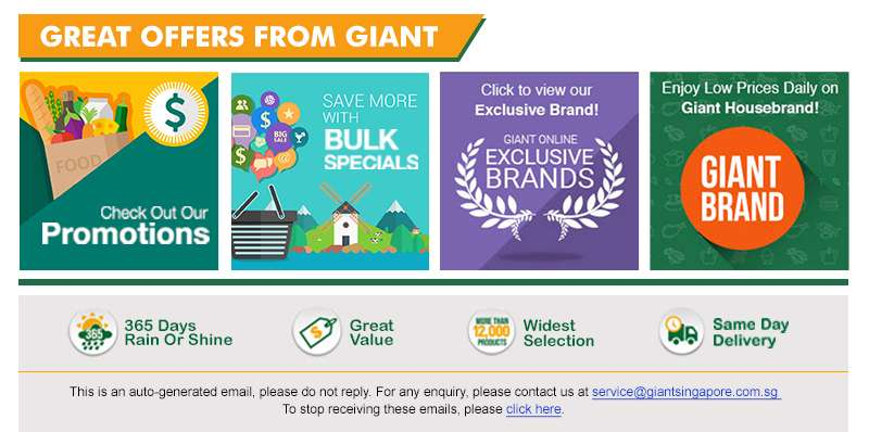 Great Offers From Giant
