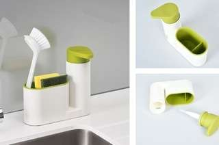 Sink Caddy with Pump Dis...