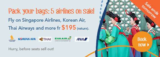 Pack your bags: 5 airlines on sale!