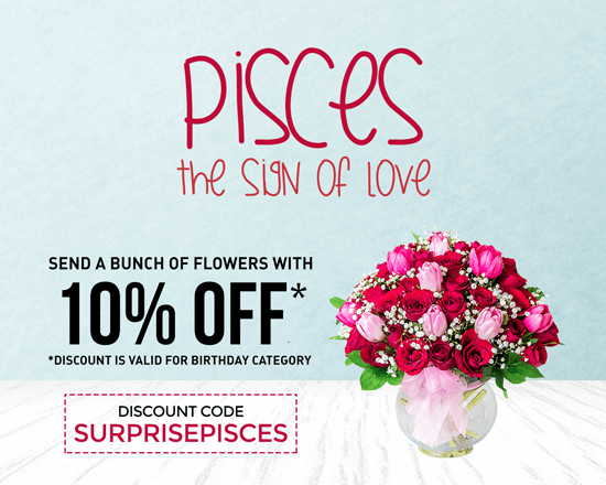 Pisces The Sign of Love 10% OFF