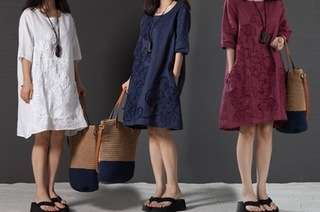 Boho-Style Tunic Dress
