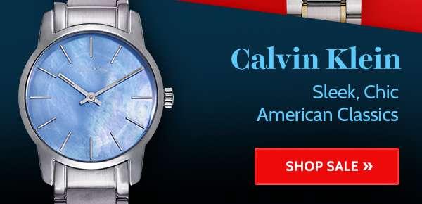 CALVIN KLEIN — Sleek, Chic American Classics