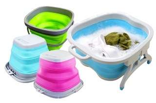 Collapsible Silicone Tub...