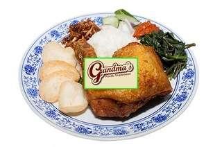 Grandma's Restaurant: Nai You Chicken Rice