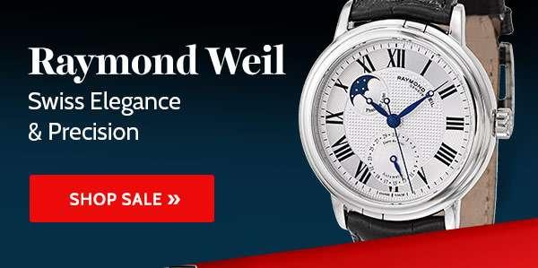 RAYMOND WEIL — Swiss Elegance & Precision