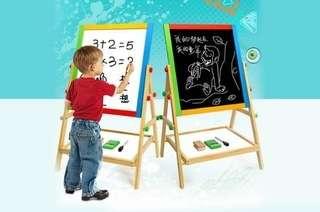 2-in-1 Blackboard & Whit...