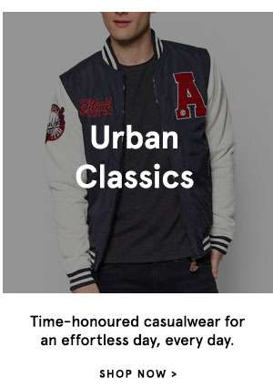 Urban Classics - Time-honoured casualwear for an effortless day, every day. Shop Now