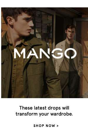 MANGO - These latest drops will transform your wardrobe. Shop Now