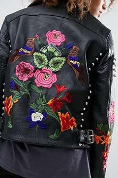 ASOS Premium Leather Biker Jacket
