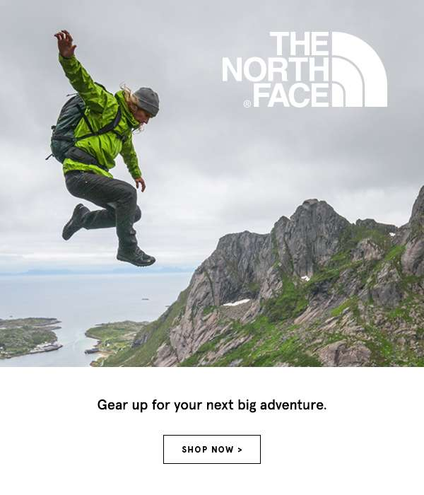 The North Face - Gear up for your next big adventure. Shop Now