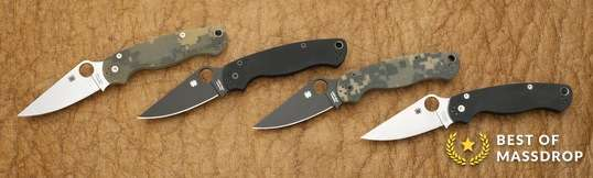 Spyderco Para Military 2 w/Complimentary Case
