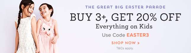 Buy 3 or More, get 20% Off
