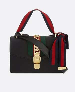 GUCCI Ribbon strap shoulder bag