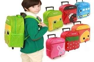 Kids Rolling Trolley Sch...