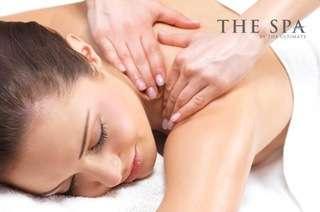 SAFRA Punggol: 60-Min Body Massage