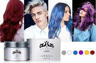 Coloured Hair Wax