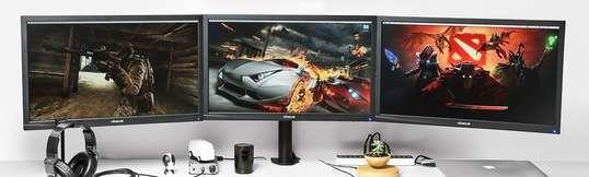 Vivo Dual/Triple/Quad LCD Heavy Duty Desk Mounts