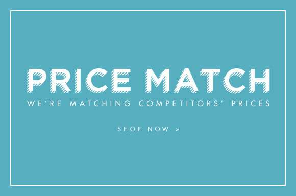Price match we are matching our competitor's