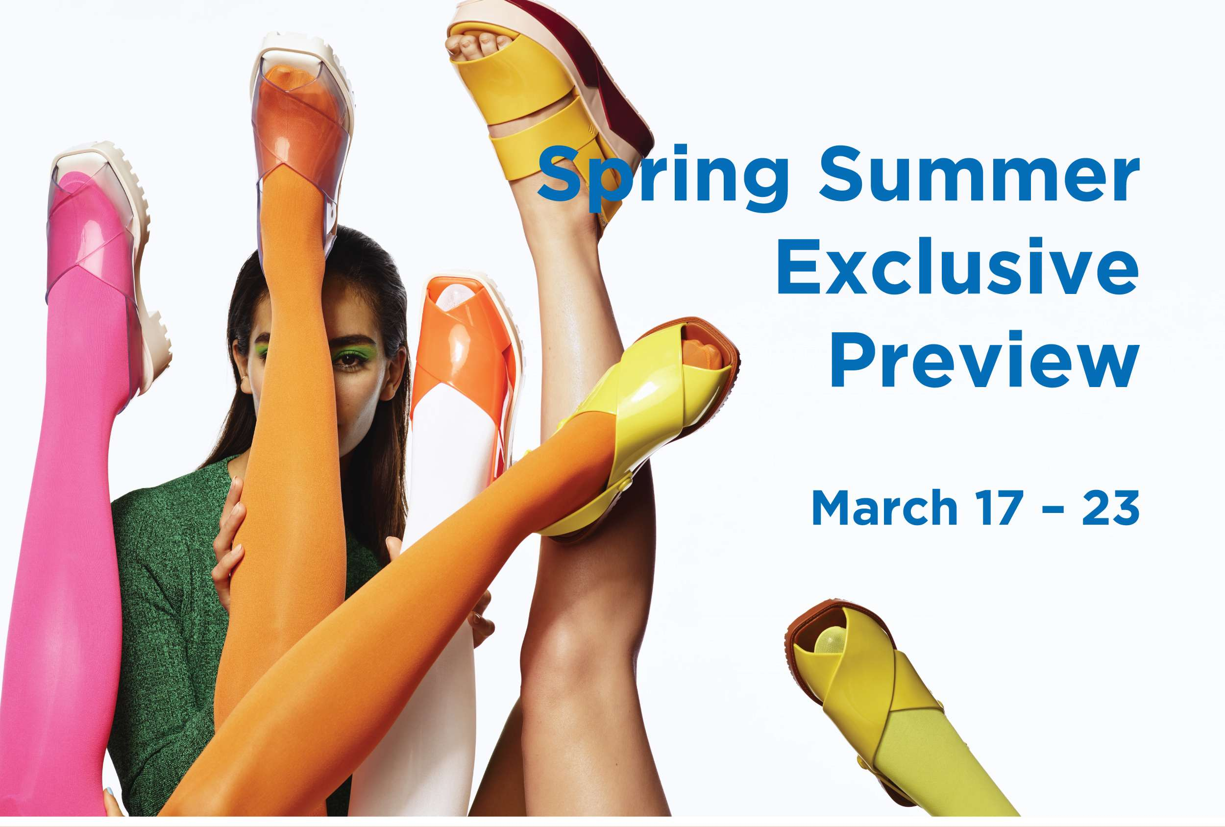 melissa spring/summer exclusive preview