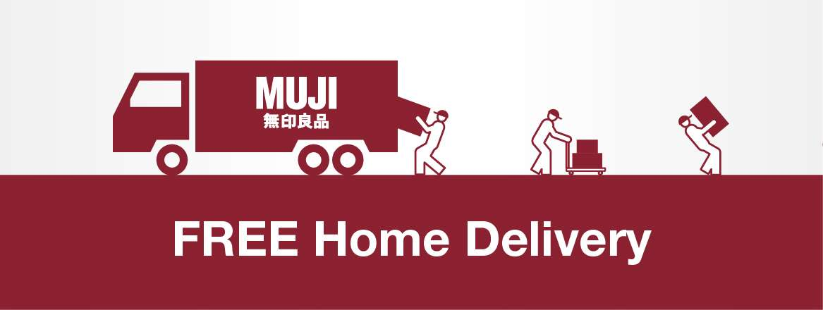 Free Home Delivery - MUJI Retail Store