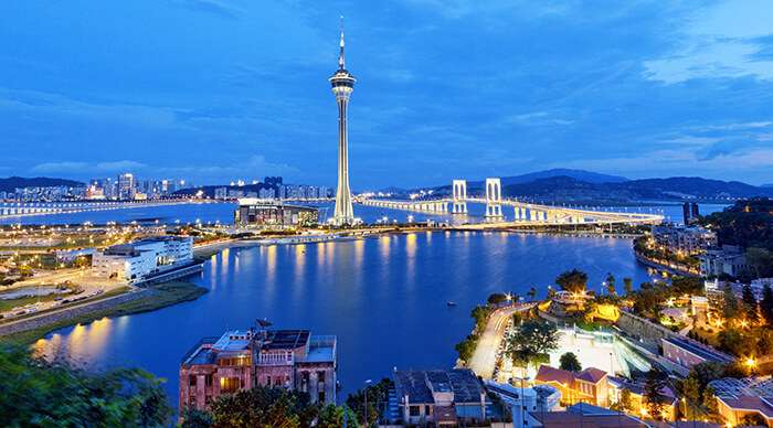 Search hotels in Macau