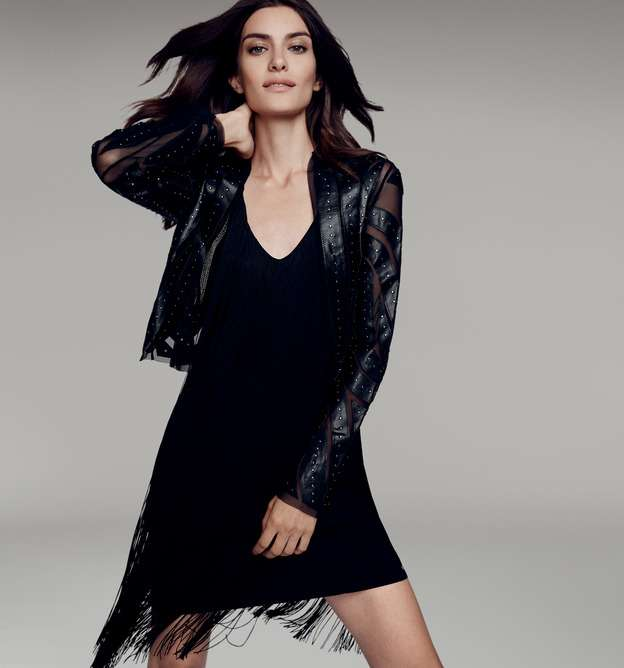 Black dress zalora gilt