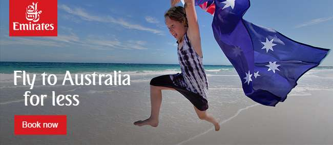 Fly to Australia for less