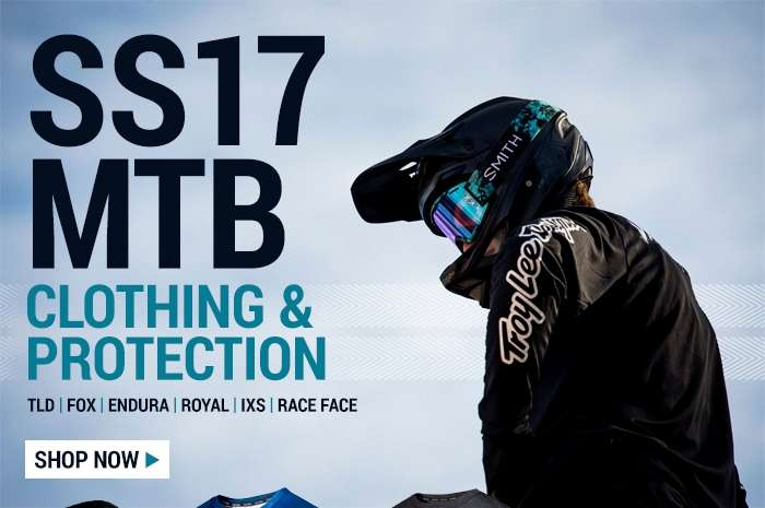 SS17 MTB Clothing & Protection