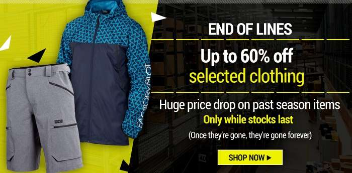 Up to 60% OFF Clothing Selected items only