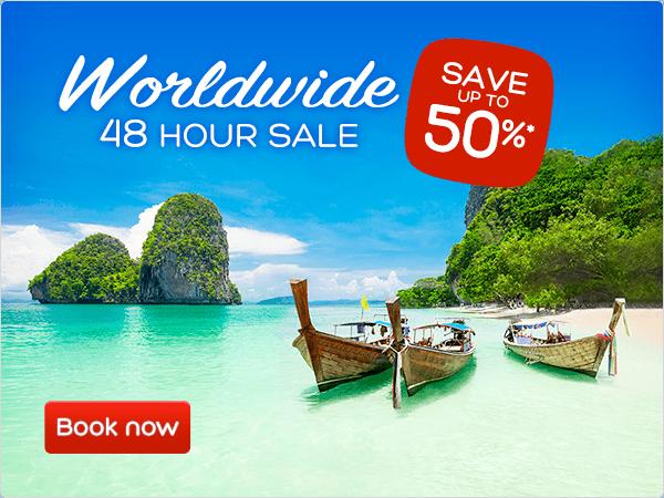 Worldwide 48 hour sale - Save up to 50%*