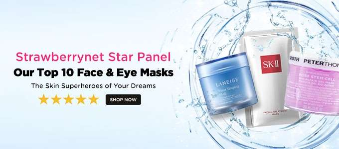 Strawberrynet Star Panel: Our Top 10 Face & Eye Masks! The Skin Superheroes of Your Dreams