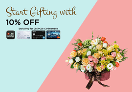 Start Gifting with 10% OFF
