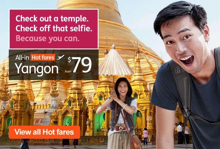 Hot Fares to Yangon