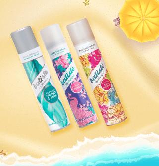 Batiste dry shampoo range - OFFER: 2 for $19.90