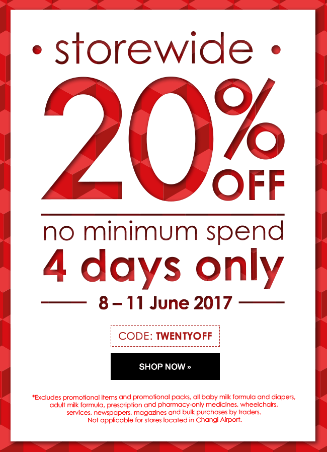 20% OFF 4 Day Super Sale - Use promo code: TWENTYOFF