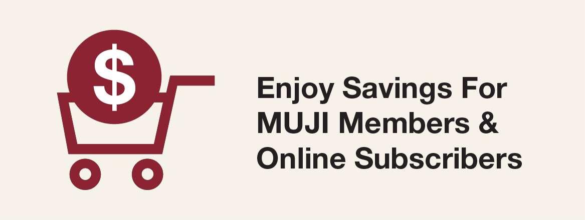 Delightful GSS with MUJI Members' Week, till 18 June 2017: