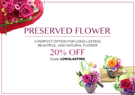 Preserved Flower - 20% OFF