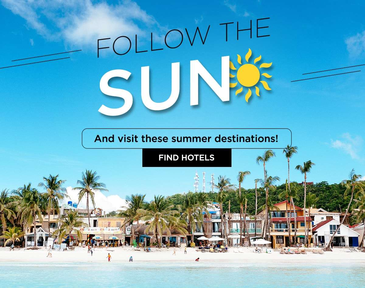 Follow the sun and visit these summer destinations!