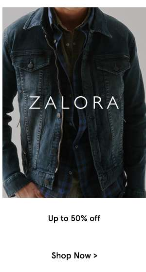 ZALORA Logo Up to 50% off