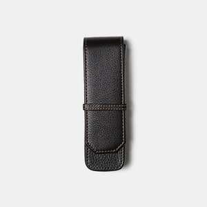 Franklin-Christoph Napa Leather 2-Pen Case