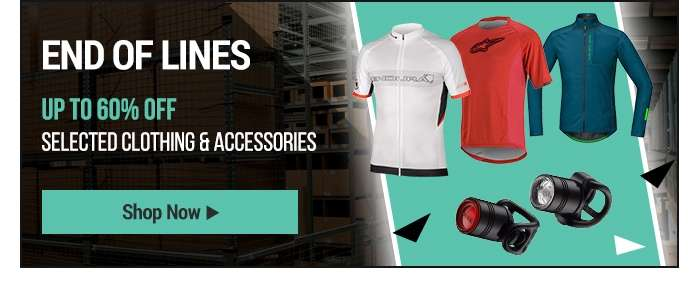 Up to 60% OFF selected Clothing & Accessories