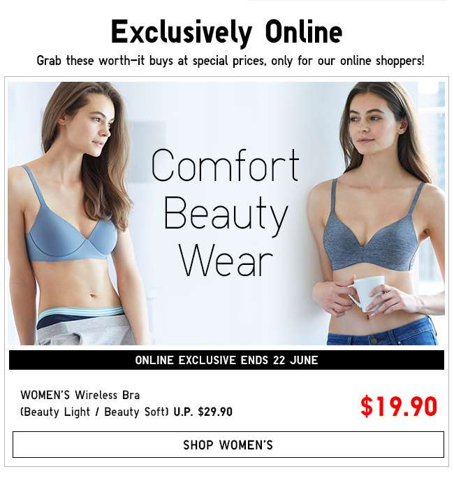 Shop Women's Wireless Bra