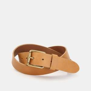 Massdrop x The British Belt Co Harness Leather Belt